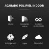 Puff Butaca Polipiel Indoor Bison Happers Xl
