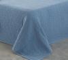 Cotton Artean- Colcha De Verano Hives Azul Cama De 180 ( 270x260 Cm)