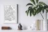 Panorama® Póster Mapa De Viena 50 X 70 Cm | Láminas Decorativas Pared | Impreso En Póster De Alta Calidad De 250gr | Cuadros Decoración Salón | Cuadros Para Dormitorio | Lienzos Decorativos