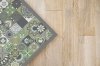 Panorama Alfombra Vinílica Hidraúlica Color Verde 80 X 150 Cm - Alfombra Cocina Vinilo - Alfombra Salón Antideslizante, Antihongos E Ignífuga - Alfombras Grandes - Alfombras Pvc