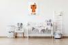 Panorama® Lienzo Infantil Para Habitación Animal Zorro 50x70cm | Impreso En Lienzo Con Bastidor | Cuadros Infantiles | Cuadros Para Habitación Bebés Y Niños | Decoración Habitación Bebé