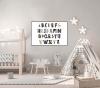 Panorama® Lienzo Infantil Para Habitación Abecedario 100x70cm | Impreso En Lienzo Con Bastidor | Cuadros Infantiles | Cuadros Para Habitación Bebés Y Niños | Decoración Habitación Bebé