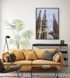 Panorama® Póster Ciudad De Barcelona 70 X 100 Cm   Impreso En Papel Alta Calidad De 250g   Póster Pared   Cuadros Decoración Salón   Cuadros Dormitorio   Póster Decorativos   Cuadros Modernos