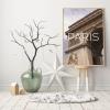 Panorama® Lienzo Ciudad De Paris 21 X 30 Cm | Impreso En Lienzo De Alta Calidad Con Bastidor | Cuadros Decoración Salón | Cuadros Para Dormitorio | Cuadros Lienzos Decorativos | Cuadros Modernos