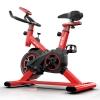 Bicicleta Estática Spinning Mg-300, Talla S, Roja