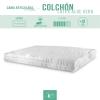 Pack Cama Articulada+colchón Látex 135 X 180 Cm