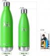 Botella De Agua Acero Inoxidable Worpin | Pistacho