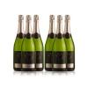 Ladrón De Lunas Cava Bisila Brut. Cava De La Comunidad Valenciana. 80% Macabeo, 20% Chardonnay.botella De 75. Pack De 6 Botellas