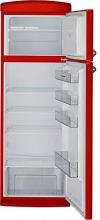 Frigorífico Combi Dos Puertas Sauber Sfr1750r - Eficiencia Energética: A+ - 175,5x60,5cm - Color Rojo