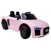 Audi R8 Spyder Licenciado 12v Rosa - Coche Eléctrico Infantil Para Niños Batería 12v Con Mando Control Remoto