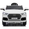 Audi Q5 Licenciado 12v Blanco - Coche Eléctrico Infantil Para Niños Batería 12v Con Mando Control Remoto