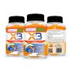 X3. Elimina El Dolor En Articulaciones, Huesos Y Músculos. Potente Antiinflamatorio. 90 Cápsulas.