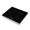 Placa Vitrocerámica Con 4 Zonas De Cocción - Potencia 2200w - Control Táctil - 23cm De Ancho - Color Negro - Universal Blue