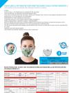 Pack 4 Mascarillas Protectora Reutilizables Para Filtro Modelo 2