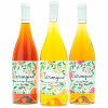Pack 6 botellas vino: 2 naranja + 2 sanguina + 2 pomelo