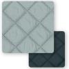 Texturas Home - Funda Protector Cubresofá Acolchado Bicolor