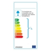 Lámpara De Pared Shell, 12x12x27 Cm, Color Cobre