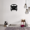 Decoración De Pared Mini Van, W32xd0,15xh36 Cm,  Color Negro
