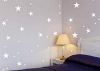 Pegatina De Pared  Estrellas , 24x0,15x29 Cm, Color Blanco