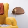 Lámpara De Pared Shelfie, 40 X 20 X 20 Cm, Color Cobre