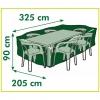 Nature Funda De Muebles De Jardín Para Mesa Rectangular 325x205x90 Cm