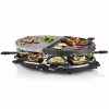 Princess Raclette Con Grill Y Piedra Ovalado Y 8 Sartenes 1200w 162710