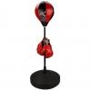 Punching-ball De Boxeo Para Niños Avento 41be, Negro / Rojo