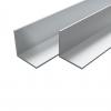 Vidaxl Barras De Aluminio Angulares Perfil En L 2 M 4 Uds 30x30x2mm