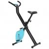 Bicicleta Estática X-bike Resistencia De Cinta Azul Vidaxl