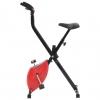 Bicicleta Estática X-bike Resistencia De Cinta Roja Vidaxl