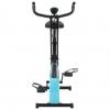 Bicicleta Estática Magnética X Con Pulsómetro Negra Y Azul Vidaxl