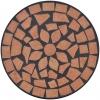Vidaxl Mesa Auxiliar Mosaico Para Plantas Terracota