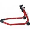 Vidaxl Caballete Delantero Para Motocicleta Color Rojo