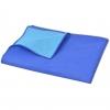 Vidaxl Manta De Picnic Azul Y Azul Claro 100x150 Cm