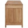 Vidaxl Mueble Para Tv De Teca Maciza 120x30x40 Cm