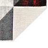 Vidaxl Alfombra De Pp Negro Y Rojo 80x150 Cm