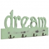 Vidaxl Perchero De Pared Dream 50x23 Cm