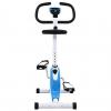 Bicicleta Estática Con Resistencia De Cinta Azul Vidaxl
