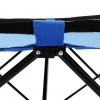 Vidaxl Tumbona Plegable Acero Azul