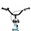 Bicicleta Para Niños 12 Pulgadas Negro Y Azul Vidaxl