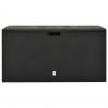 Vidaxl Caja De Almacenamiento De Jardín Gris Antracita 114x47x60 Cm