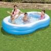 Piscina Big Lagoon Family 262x157x46 Cm Bestway