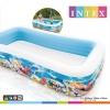 Swim Center Piscina Familiar Vida Marina 305x183x56 Cm Intex