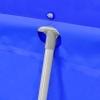 Piscina Con Estructura De Acero Azul 540x270x122 Cm Vidaxl