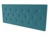La Web Del Colchon -cabecero Tapizado Melania Para Cama De 180 (190 X 70 Cms) Turquesa Textil Suave