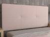 La Web Del Colchon -cabecero Tapizado Atenas Para Cama De 105 (115 X 70 Cms) Rosa Palo Textil Suave