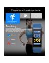 Lks Pulsera De Actividad Pantalla A Color Smartband Ip67 A Prueba De Agua Ritmo Cardíaco Monitor De Presión Arterial Deporte Fitness Monitorización Del Sueño