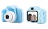 Cámara De Foto/vídeo Hd Para Niños 1080p Y Juegos Integrados Azul