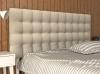 La Web Del Colchon -cabecero Tapizado Brigitte Para Cama De 105 (115 X 115 Cms) Beige Claro Textil Suave