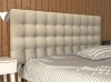 La Web Del Colchon -cabecero Tapizado Brigitte Para Cama De 150 (160 X 115 Cms) Beige Claro Textil Suave